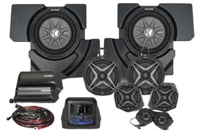 SSV Works Can-Am Maverick X3 Audio Kit w/ JVC 8-Speaker X32-8A1x