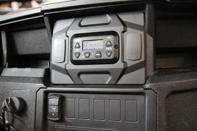 SSV Works Polaris General Dash Mounting Panel for MRB3 Bluetooth Media Controller GN-DM3