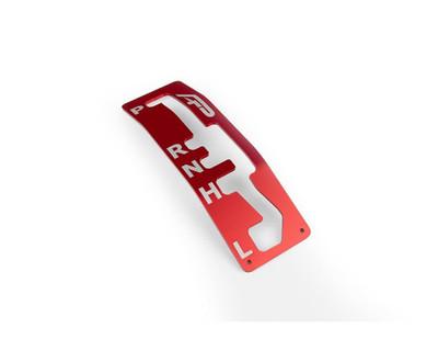 Agency Power Can-Am Maverick X3 Gear Shift Gate Red AP-BRP-X3-310-RD