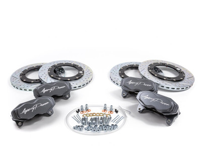 Agency Power Can-Am Maverick X3 Big Brake Kit Front and Rear Graphite Gray AP-BRP-X3-460-GRY