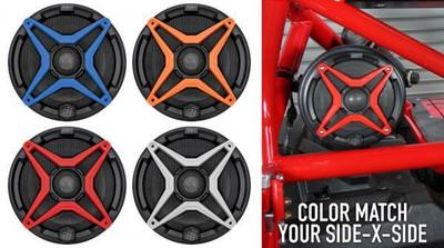 SSV Works Polaris Ranger XP1000 2018 Front Speaker Pods with 120 watt 6.5 Speaker RG4-F65