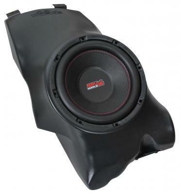 SSV Works Polaris RZR Gen 1-3 Under Dash Sub Box with 600 watt 10 Subwoofer RZ-UDSB10