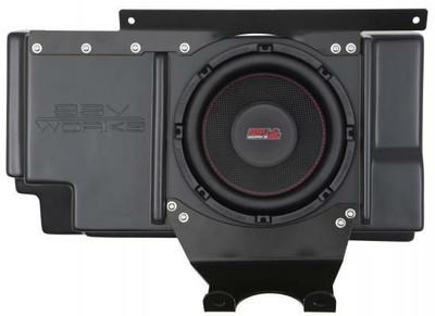 SSV Works Polaris RZR XP 1000 Behind Seat Sub Box with 600 Watts 10 Subwoofer RZ3-BSSB10