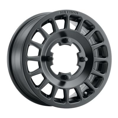 Method Race Wheels MR407 UTV Bead Grip 14x6 51 4x156 Matte Black MR40746046551