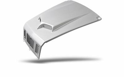Maier Powersports Polaris RZR 800 Scooped Hood Pearl White Carbon Fiber 19471-31