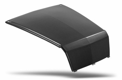Maier Powersports Polaris RZR Stock Hood Black Carbon Fiber 19470-30