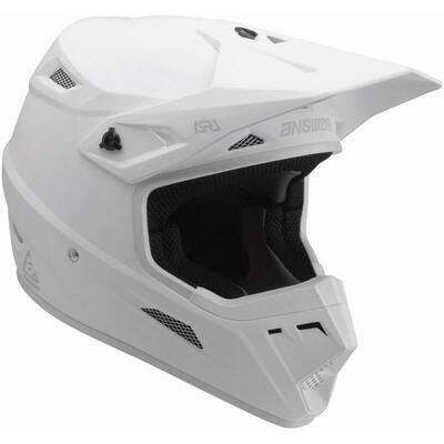 Answer Racing AR1 Solid Helmet White 446261