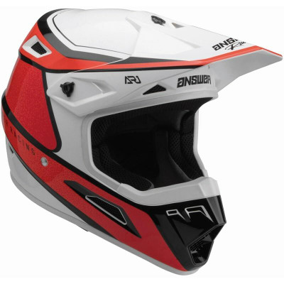 Answer Racing A22 AR1 Vivid Helmet Red/Flo Red 446283