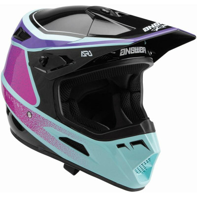 Answer Racing A22 AR1 Vivid Helmet Purple/Rhodamine Seafoam 446289