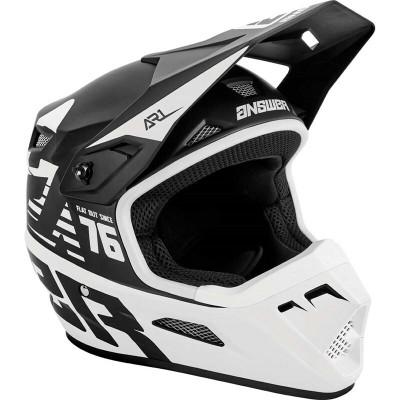 Answer Racing A22 AR1 Bold Helmet Black/White 445980