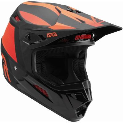 Answer Racing A22 AR3 Phantom Helmet Black/Red 446295
