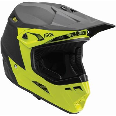 Answer Racing A22 AR3 Phantom Helmet Hyper Acid/Black 446307