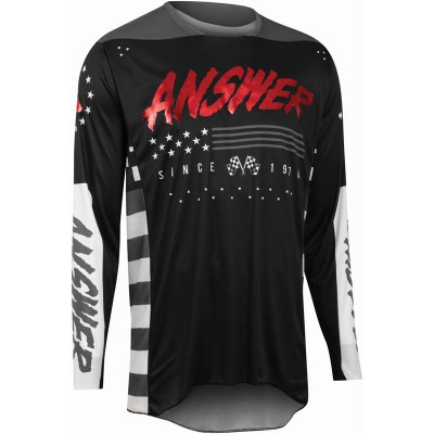 Answer Racing A22 Elite Redzone Mens Jersey Black/Red 446928