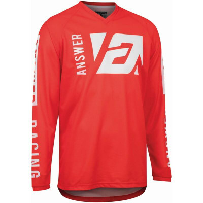 Answer Racing A22 Syncron Merge Jersey Answer Red/White 446746