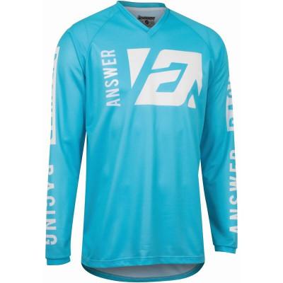 Answer Racing A22 Syncron Merge Jersey Astana Blue/White 446760