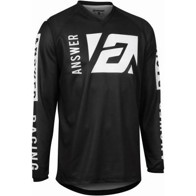 Answer Racing A22 Syncron Merge Jersey Black/White 446729