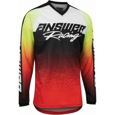Answer Racing A22 Syncron Prism Mens Jersey Red/Hyper Acid 446788