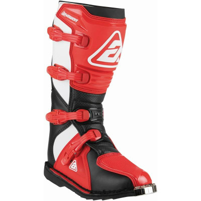 Answer Racing A22 AR1 Adult Boot Black/Red 446625