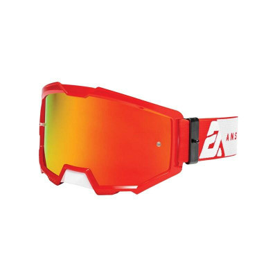 Answer Racing A22 Apex 3 Goggles White/Red 446157