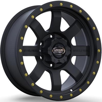 Muscle Race Wheels Flow Form Beadlock UTV Wheel 15x7 38mm 4X156 Black 3S1605741