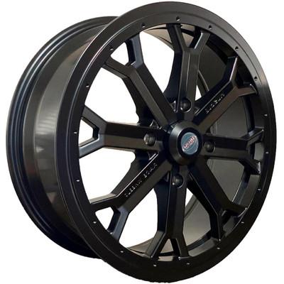Muscle Race Wheels 18″ Cast Beadlock UTV Wheel 18x7 60mm 4X156 Black S70708741
