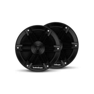 Rockford Fosgate M0 6.5 Marine Grade Speakers Black M0-65B