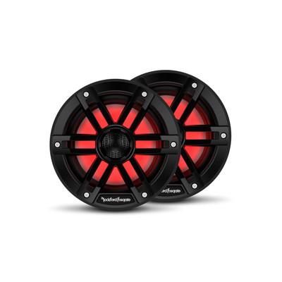 Rockford Fosgate M1 6 Color Optix Marine 2-Way Speakers Black M1-6B