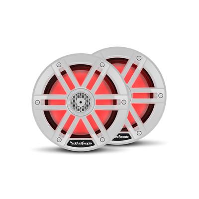 Rockford Fosgate M1 6.5 Color Optix Marine 2-Way Speakers White M1-65