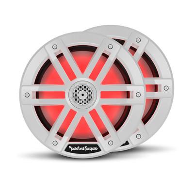 Rockford Fosgate M1 8 Color Optix Marine 2-Way Speakers White M1-8