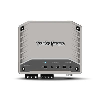 Rockford Fosgate M2 200 Watt 2-Channel Element Ready Amplifier M2-200X2