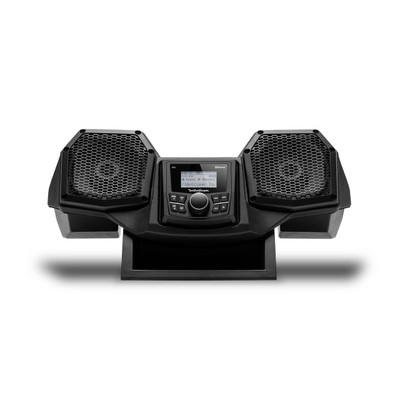 Rockford Fosgate Polaris Ranger All-In-One Dash Housing with PMX-1 and 5.25 Speakers Stage 1 RNGR18-STG1