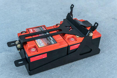 Madigan Can-Am Maverick X3 MAX Dual Battery Mount 4-Seat X3-DBM-4