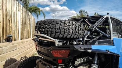 Madigan Polaris RZR XP 1000 Spare Tire Rack XP1K-RSTM