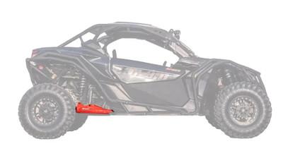 SuperATV Can-Am Maverick X3 High Clearance Rear Trailing Arm Red RTA-CA-X3-HC-14