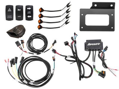 SuperATV Kawasaki Teryx KRX 1000 Deluxe Plug and Play Turn Signal Kit TSK-K-KRX-004
