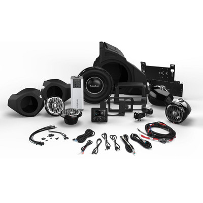 Rockford Fosgate Polaris RZR Audio Kit, 2014 - Current Stage 5 RZR14-STAGE5