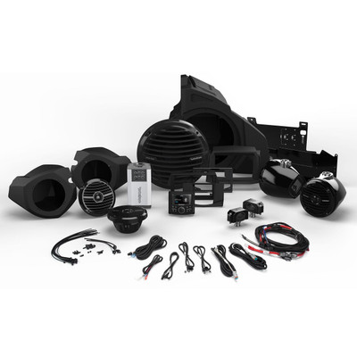 Rockford Fosgate Polaris RZR Audio Kit, 2014 - Current Stage 4 RZR14-STAGE4