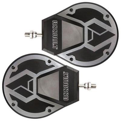 Assault Industries Sidewinder Convex UTV Side Mirrors 1.5 Clamp 101005SM07211