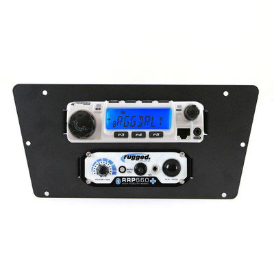 Rugged Radios Yamaha YXZ1000R RM-60, RM-100, RM-50 or RM-45 Mobile Radio Mount MT-YXZ-RM60