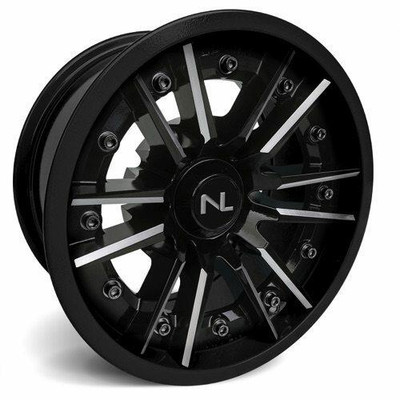 No Limit 14x7 STORM UTV Wheels Gloss Black/Gloss Black No Limit 3513