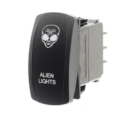 XTC Carling LED Rocker Switch - Alien Lights SW11-00139043