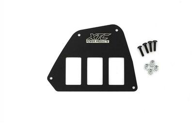 XTC Honda Talon 3 Switch Mounting Plate SP-3SW-HT