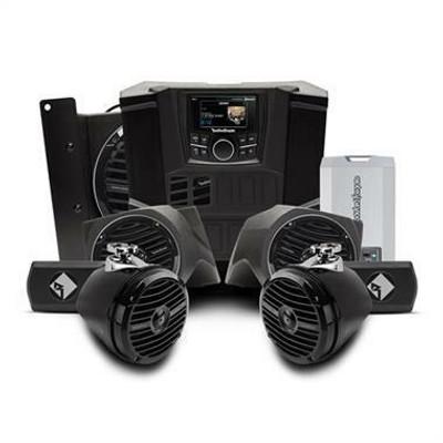 Rockford Fosgate Polaris Ranger Stereo Kit Stage 4 RNGR-STAGE4