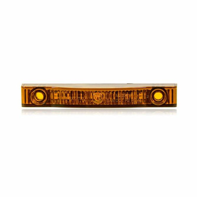 XTC Thin Line Amber 4 7 LEDs P2PC LED-4IN-AMB