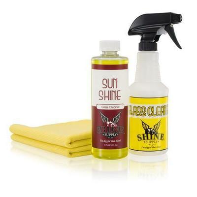 Shine Supply Sun Shine Glass Cleaning Kit - 16 oz