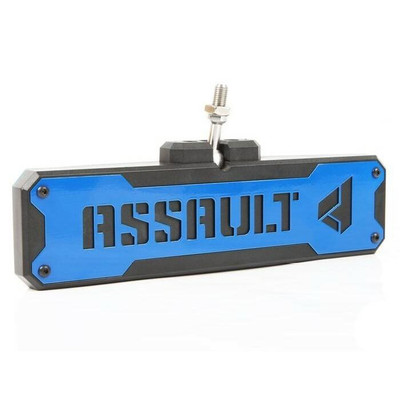 Assault Industries Bomber Convex Center Mirror Bezel Set Blue 101005CM1202