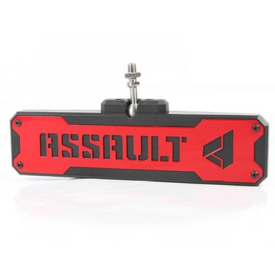 Assault Industries Bomber Convex Center Mirror Bezel Set Red 101005CM1203