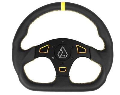 Assault Industries Ballistic D V2 UTV Steering Wheel Yellow 100005SW0805