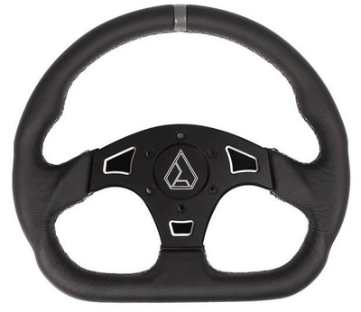 Assault Industries Ballistic D V2 UTV Steering Wheel White 100005SW0806