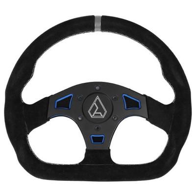 Assault Industries Ballistic D Suede UTV Steering Wheel Blue 100005SW1202